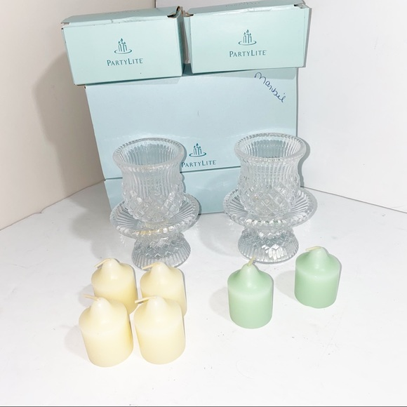 PartyLite Candle Holders and candles